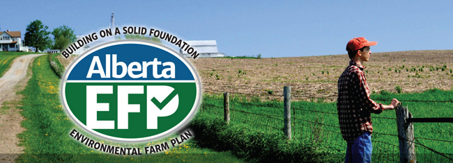 Alberta Environmental Farm Plan website header