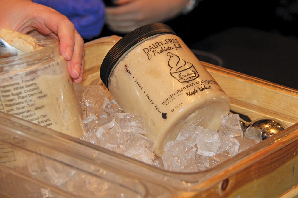 BiotaGelata — a dairy-free gelato made from fermented white beans — took home top honours at the recent Mission ImPULSEible student food development competition.