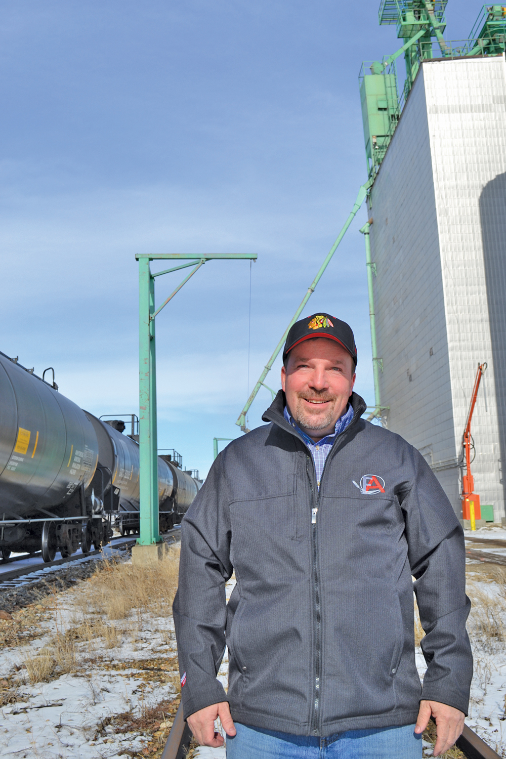 "After the announcements about new elevators Jason Lenz says the farmers he's talked to ""all have smiles on their faces."""