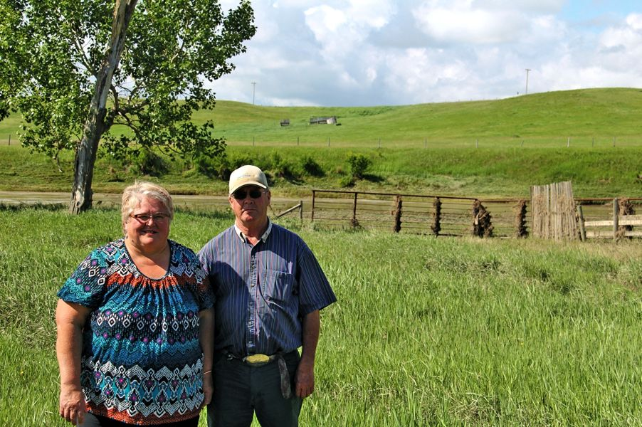 "Cecilie and Duncan Fleming have given up repairing corrals and fencing on their low-lying land because 100-year floods are ""coming every eight years."""