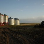 Grain meant for long-term storage with higher-than-desired moisture should first go through a grain dryer.