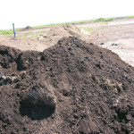 A good pile of compost breaks down quickly and doesn't smell.