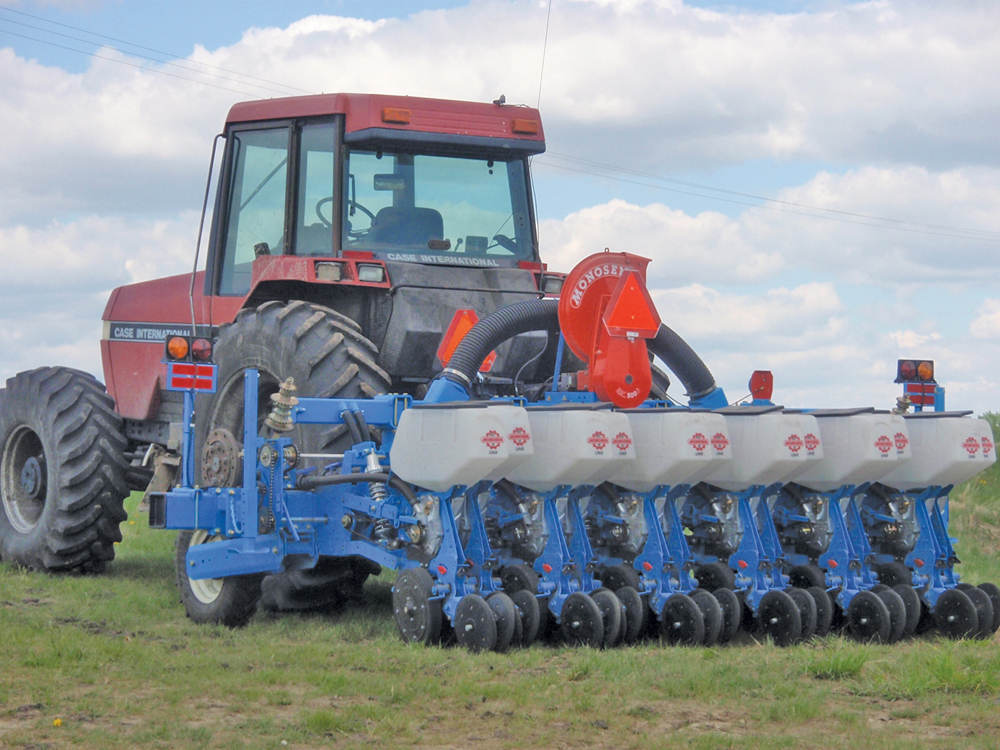 Costly Corn Planter Gives Ultra Consistent Canola Stands