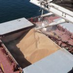 Grain is loading slowing down at port terminals, such as at Cargill's newly expanded Northern Vancouver facility.