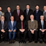 The 2019 board of the Alberta Canola Producers Commission. In back (from left) are Ian Chitwood, Roger Chevraux, vice-chair 
