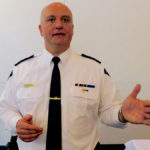 RCMP Superintendent Peter Tewfik outlined the RCMP's rural crime strategy at FarmTech.