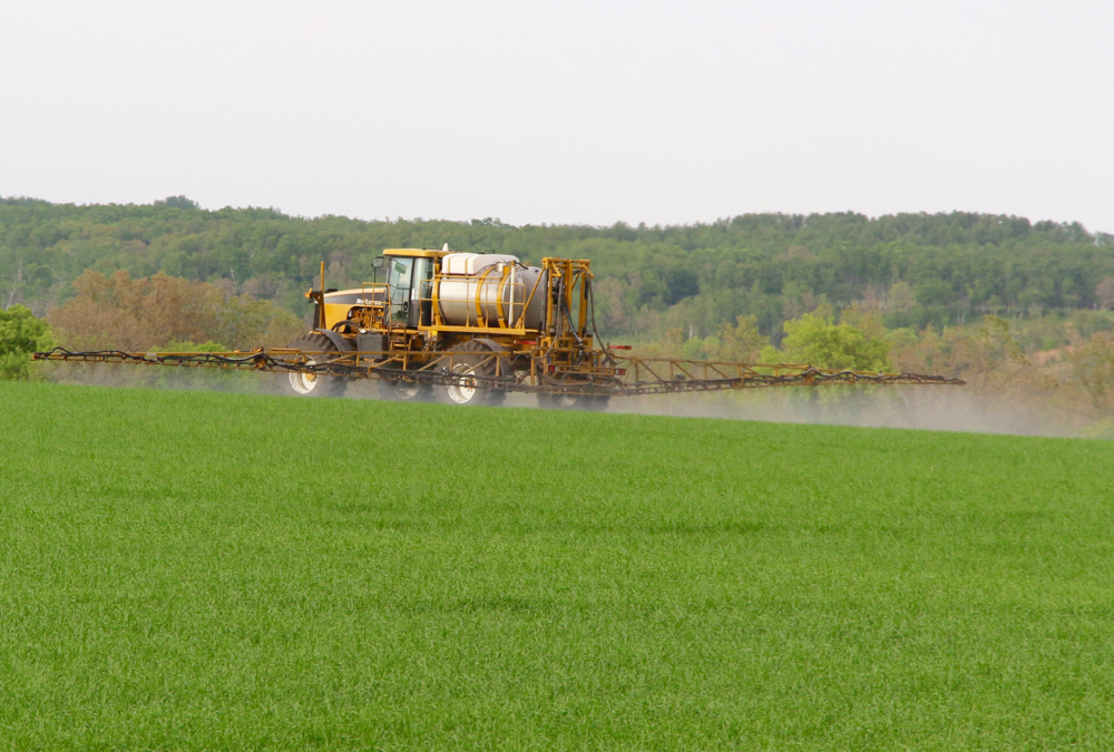 "Uneven boom height is one of several issues that can lead to ""underdosing"" when spraying."