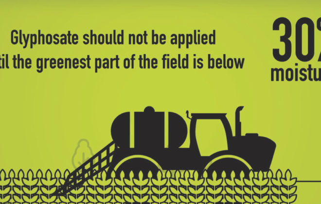 "Buyers of Prairie crops are ""increasingly testing shipments with highly sensitive equipment for levels of pesticide residues"" including glyphosate, says Keep It Clean!, an initiative by canola, cereals, and pulse organizations."