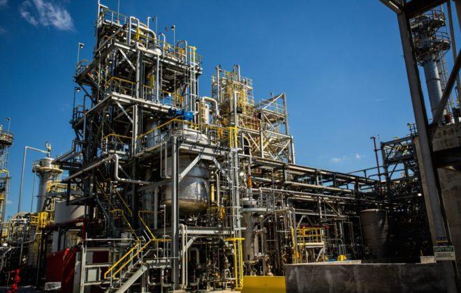 BASF's dicamba production facility in Beaumont, Tex. (BASF.com)