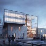 Artist's rendition of the planned Richardson Innovation Centre in Winnipeg. (Graphic courtesy Richardson International)
