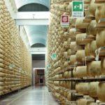 Parmesan wheels seasoning. (Claudio Ventrella/iStock/Getty Images)