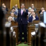 Federal Conservative leader Andrew Scheer speaks during Question Period in the House of Commons in Ottawa on April 10, 2019. (Photo: Reuters/Chris Wattie)