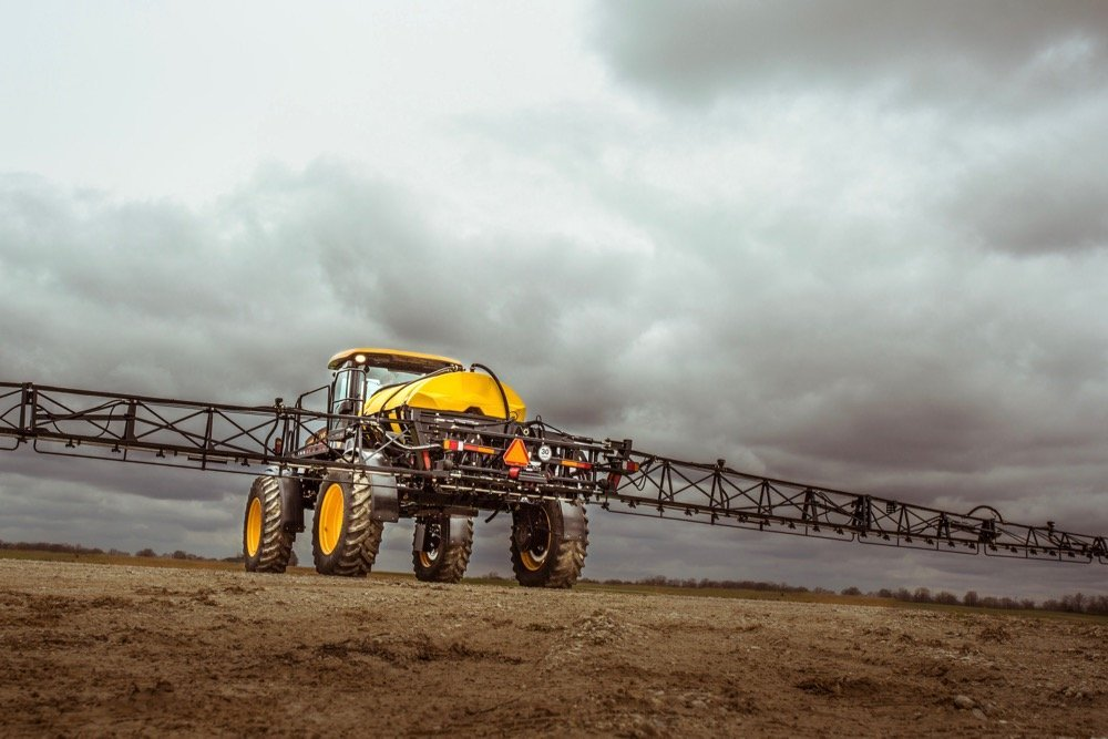 Buhler Industries' plant at Willmar, Minn., which today makes Versatile high-clearance sprayers, will take up more product lines as the company shuts its Fargo, N.D. facility. (Versatile-ag.com)