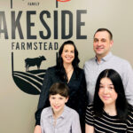 The idea for starting a cheesery came out of left field, but that's nothing new for Coralee and Jeff Nonay, pictured with daughter Lily and son Luke.
