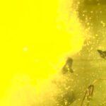 Screenshot from a U.S. NHTSA video showing a rupturing Takata airbag inflator. (Nhtsa.gov via YouTube)