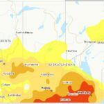 Agriculture and Agri-Food Canada's Drought Monitor map for the Prairie provinces as of April 30, 2021. (AAFC)