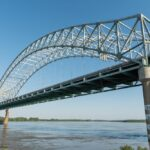 File photo of the Hernando de Soto Bridge as viewed from the Mud Island River Park at Memphis. (Akrassel/iStock/Getty Images)
