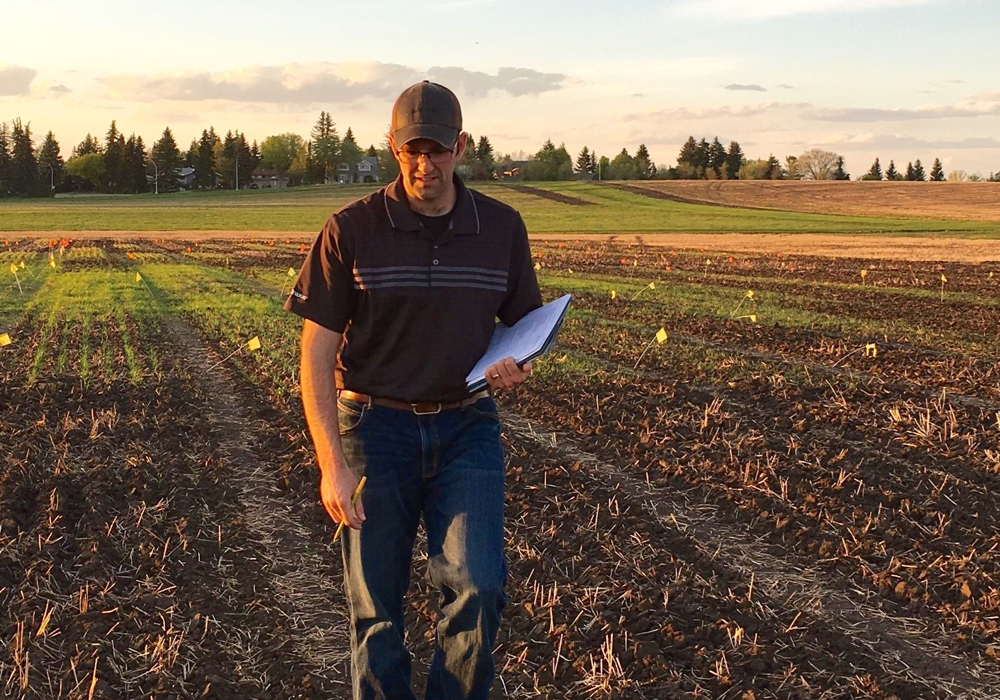 Seeding ultra early can produce good or better yield, says Graham Collier, a PhD candidate in agronomy at the University of Alberta.