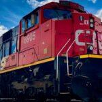 File photo of a CN locomotive in Winnipeg. (Dave Bedard photo)